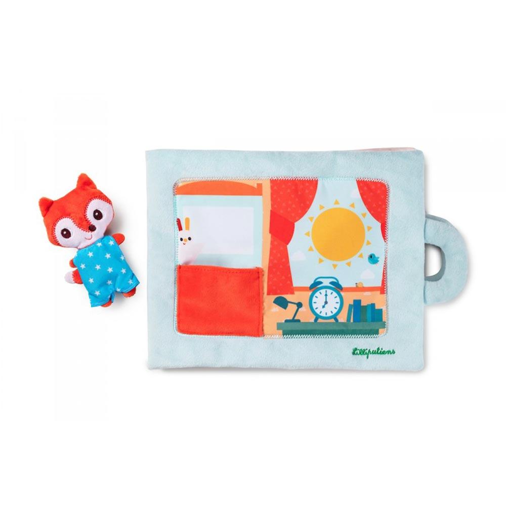 Babybuch Kinderbuch Guten Tag, kleiner Fuchs - Aktivitätenbuch