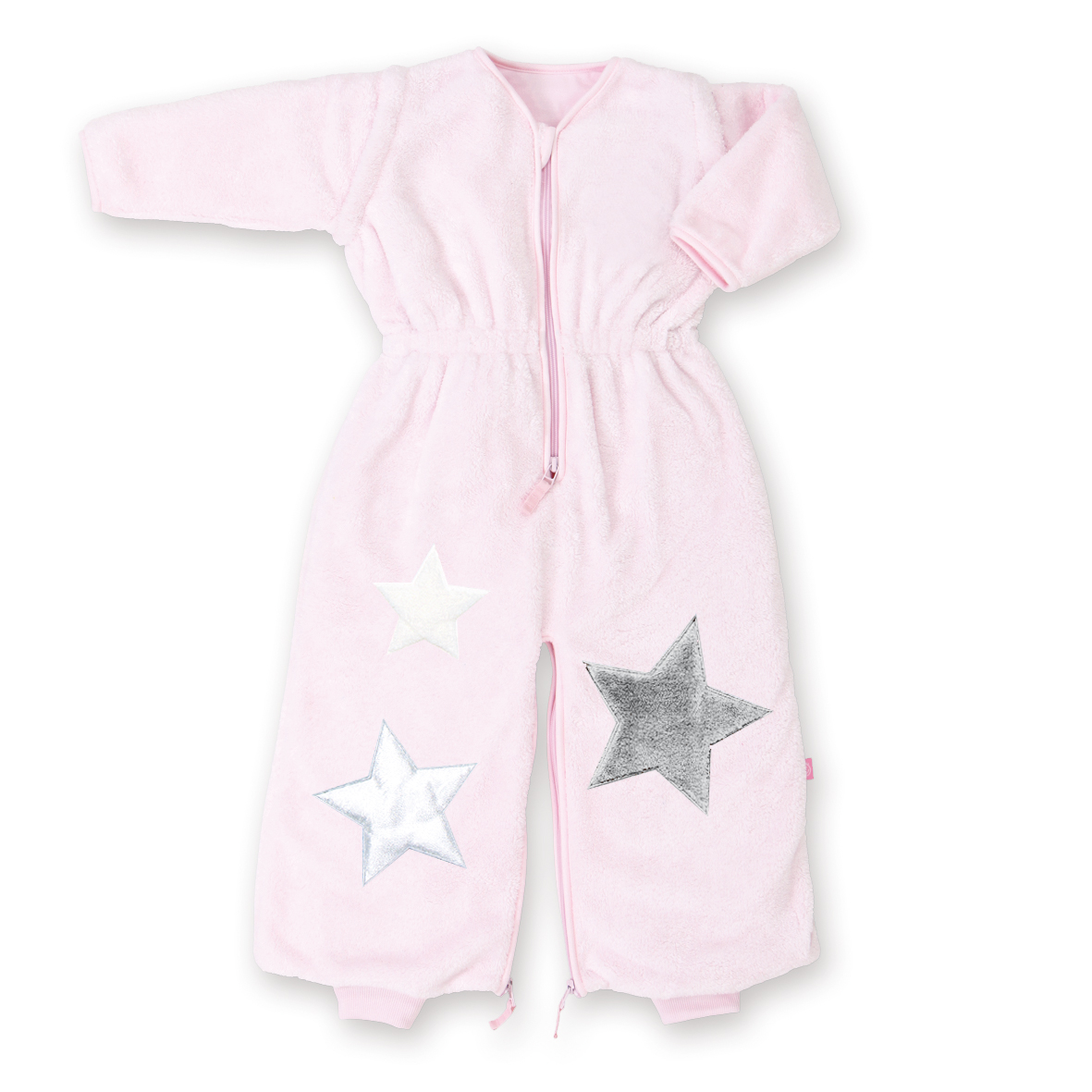 2in1 Schlafsack Stary Softy cristal rosa 6-24 m