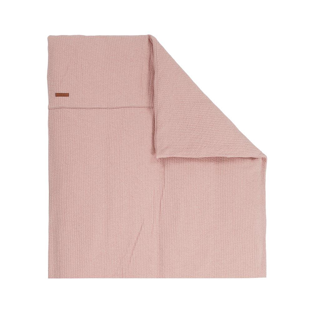 Kinderwagen Kissenbezug Pure pink (Gr. 80x80 cm)