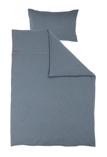 Bettwäsche Pure blau 135x200cm + 80x80cm