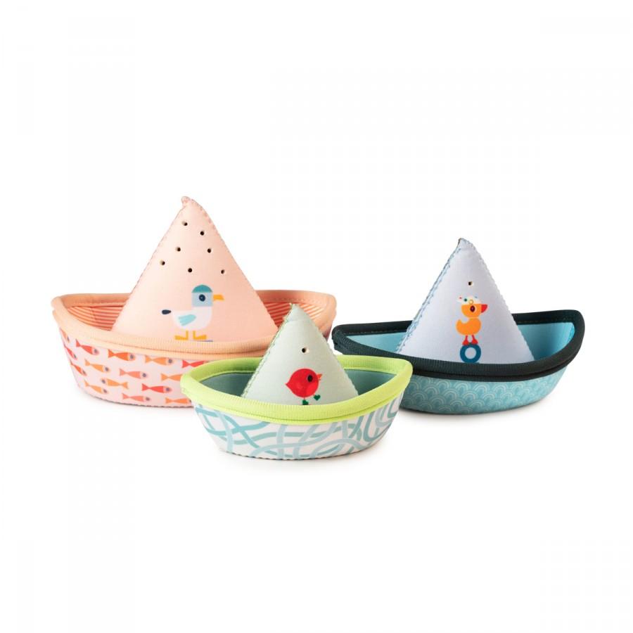 Badespielzeug - kleine schwimmende Boote