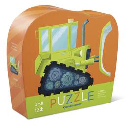 Mini Puzzle Bulldozer 12 Teile