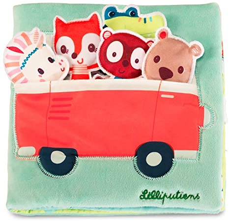 Stoffbuch Spielbuch Einhorn Louise und ihre Freunde