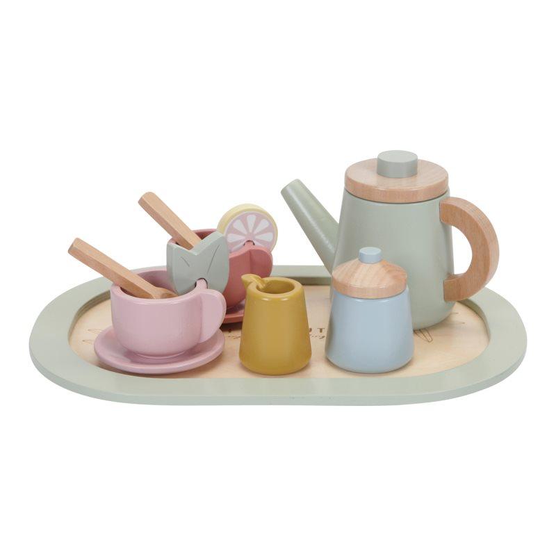 Holz Tee Set Pastell