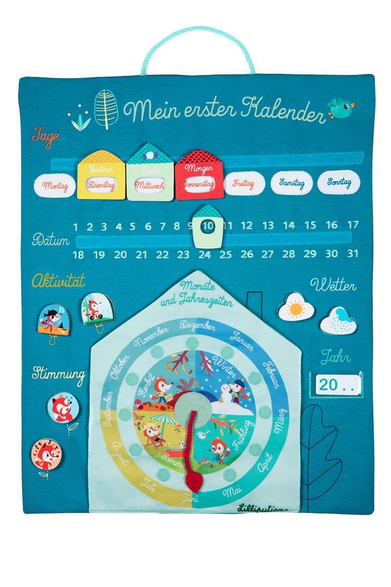 Mein erster Kalender aus Stoff zum Aufhängen