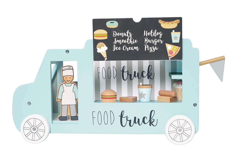 Holz Food Truck Imbisswagen