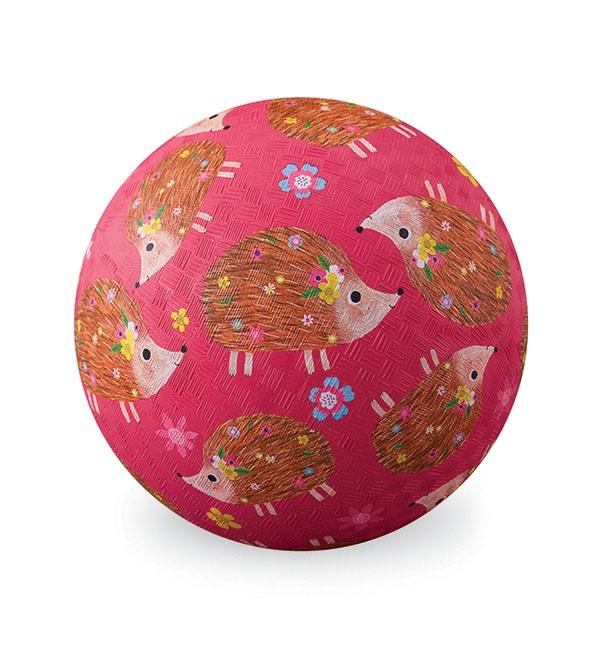 Naturkautschuk Ball Igel pink Ø 18 cm