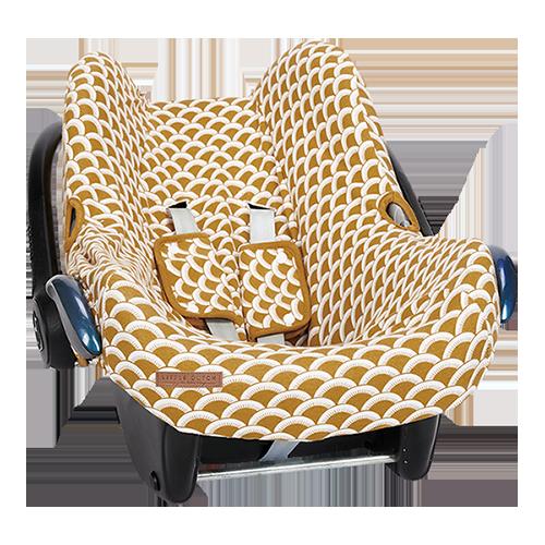 Bezug für Babyschale Sunrise ocker gelb