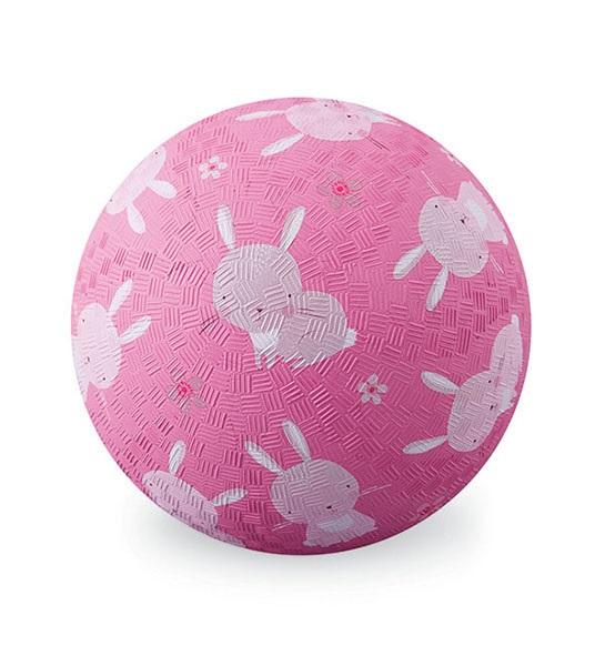 Naturkautschuk Ball Hase rosa Ø 18 cm