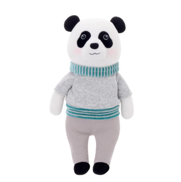 Metoo Stofftier Kuscheltier Mr. Panda Bär grau 32 cm