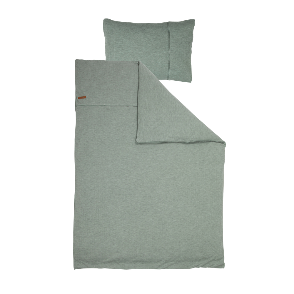 Kinderbettwäsche Pure mint (Gr. 100x140 cm + 40x60 cm)