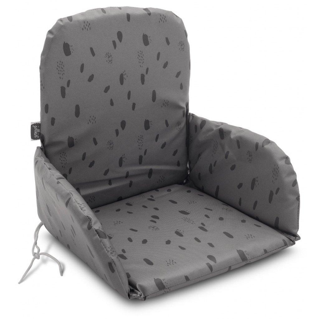 Sitzverkleinerer Spot Tupfen grau