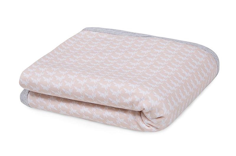 Babydecke Kleiner Fuchs rosa 65x80 cm