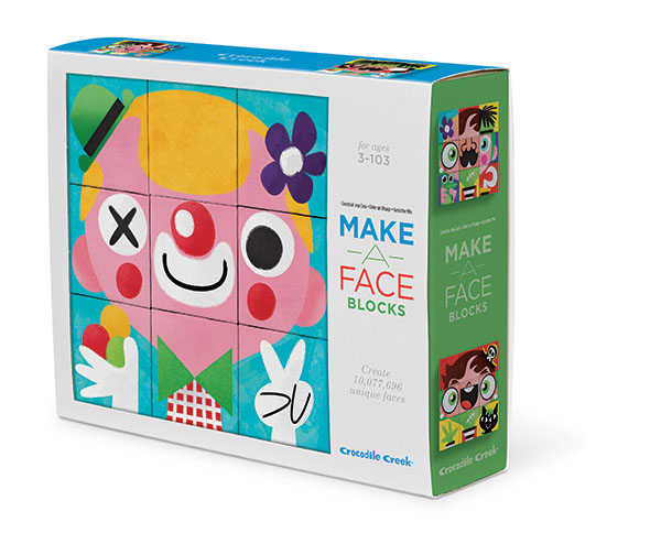 Würfel Puzzle Mach ein Gesicht 9 Teile