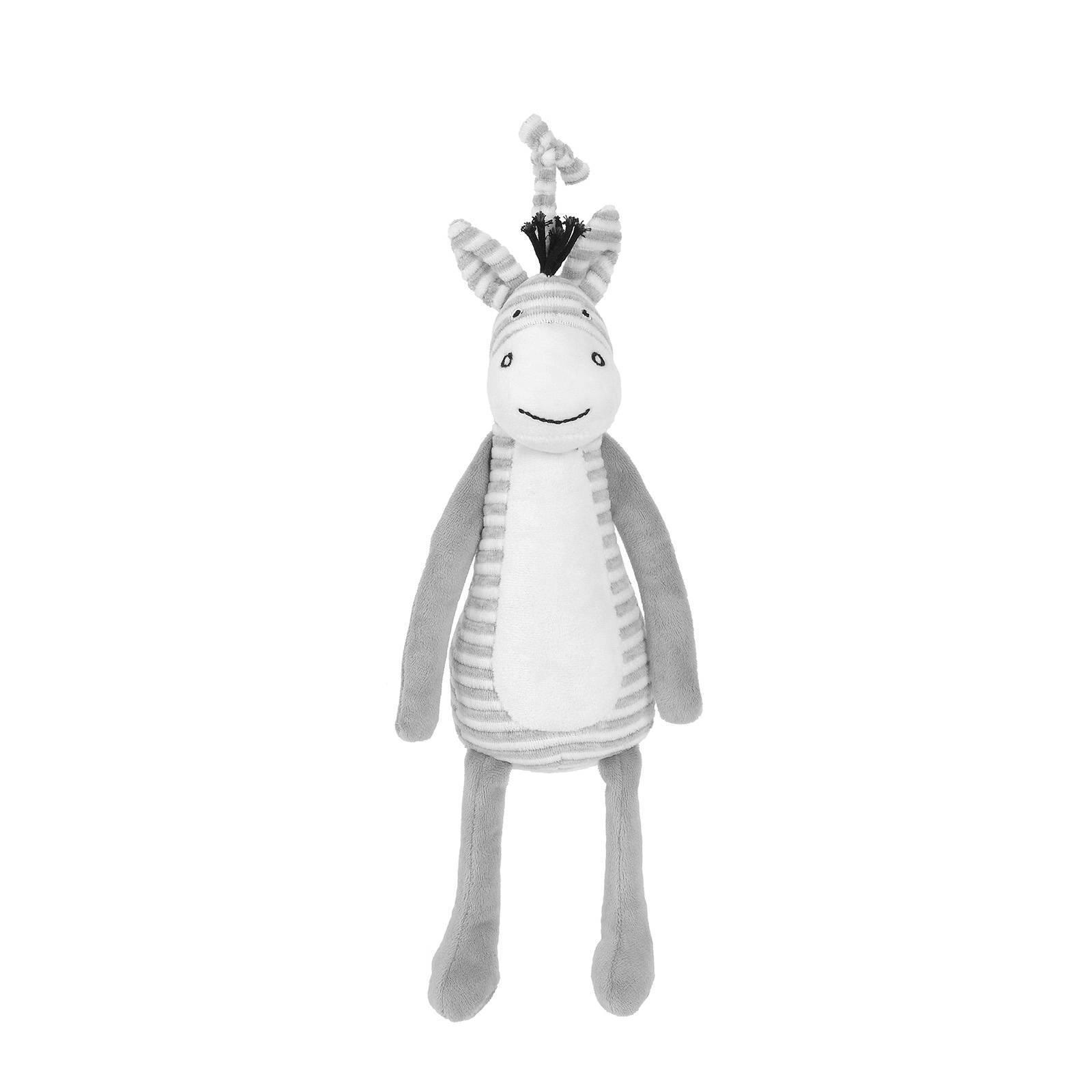 Spieluhr Zebra grau