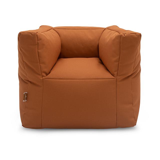 Kindersessel Sitzsack karamellbraun