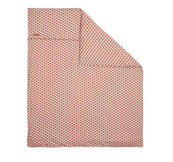 Kinderwagen Kissenbezug Sunrise rost (Gr. 80x80 cm)