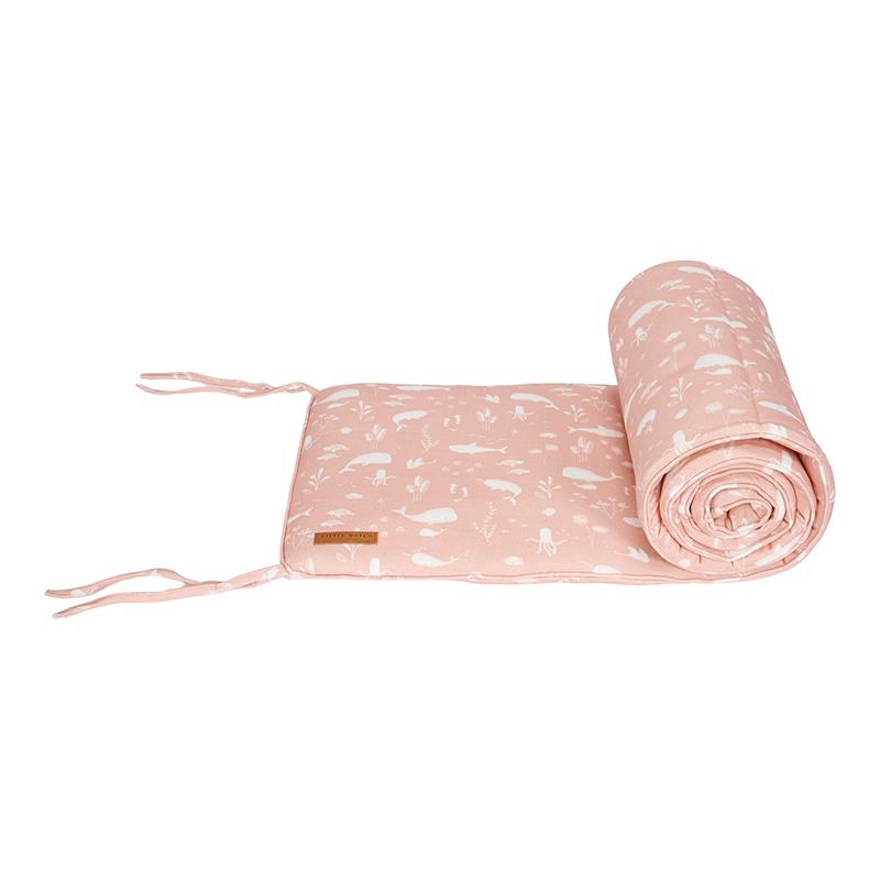 Bettnestchen Ocean rosa (Gr. 30x180 cm)
