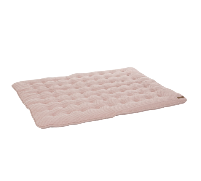 Laufgittereinlage Krabbeldecke Pure rosa (Gr. 80x100 cm)