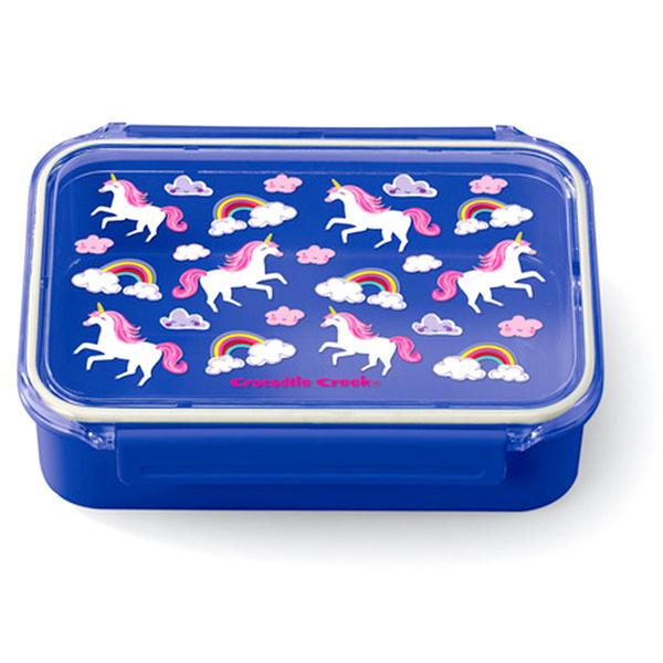 Lunchbox Bento Box Einhörner dunkelblau