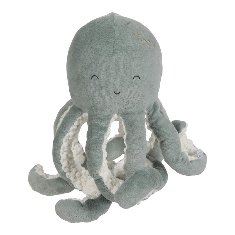 Stofftier Plüschtier Oktopus Ocean mint