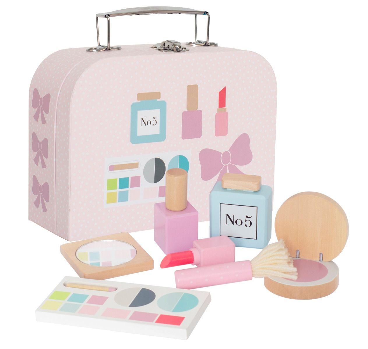 Schminkköfferchen Spielzeug Make Up mit viel Zubehör rosa