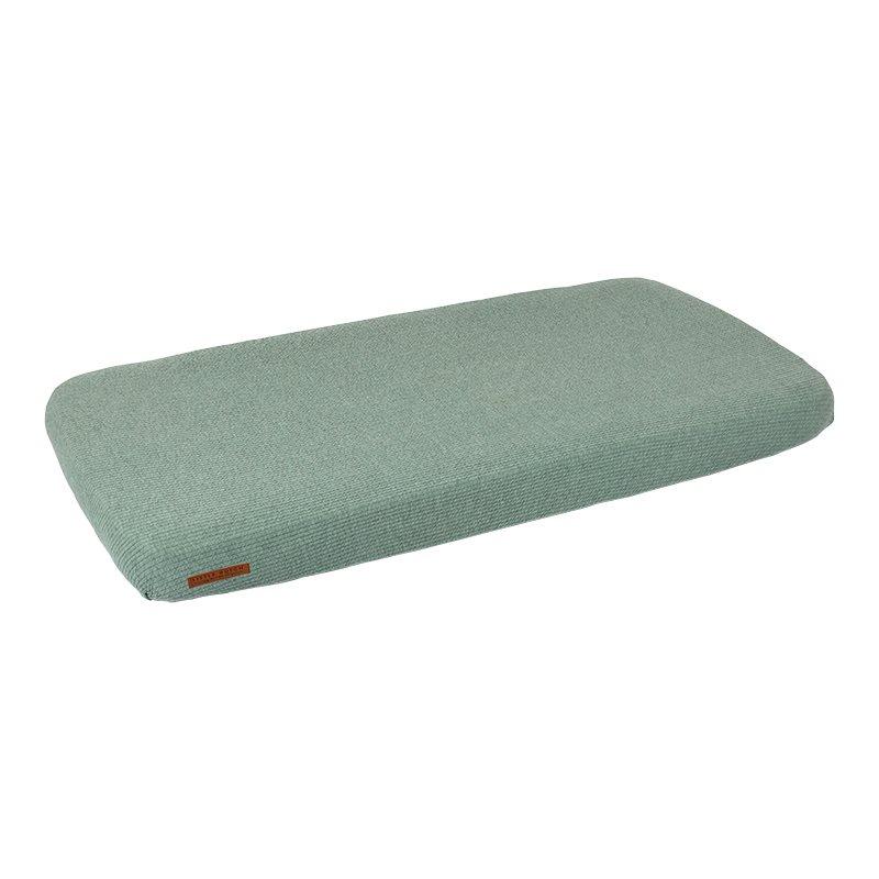 Spannbetttuch für Kinderbett Pure mint (Gr. 70x140 cm)