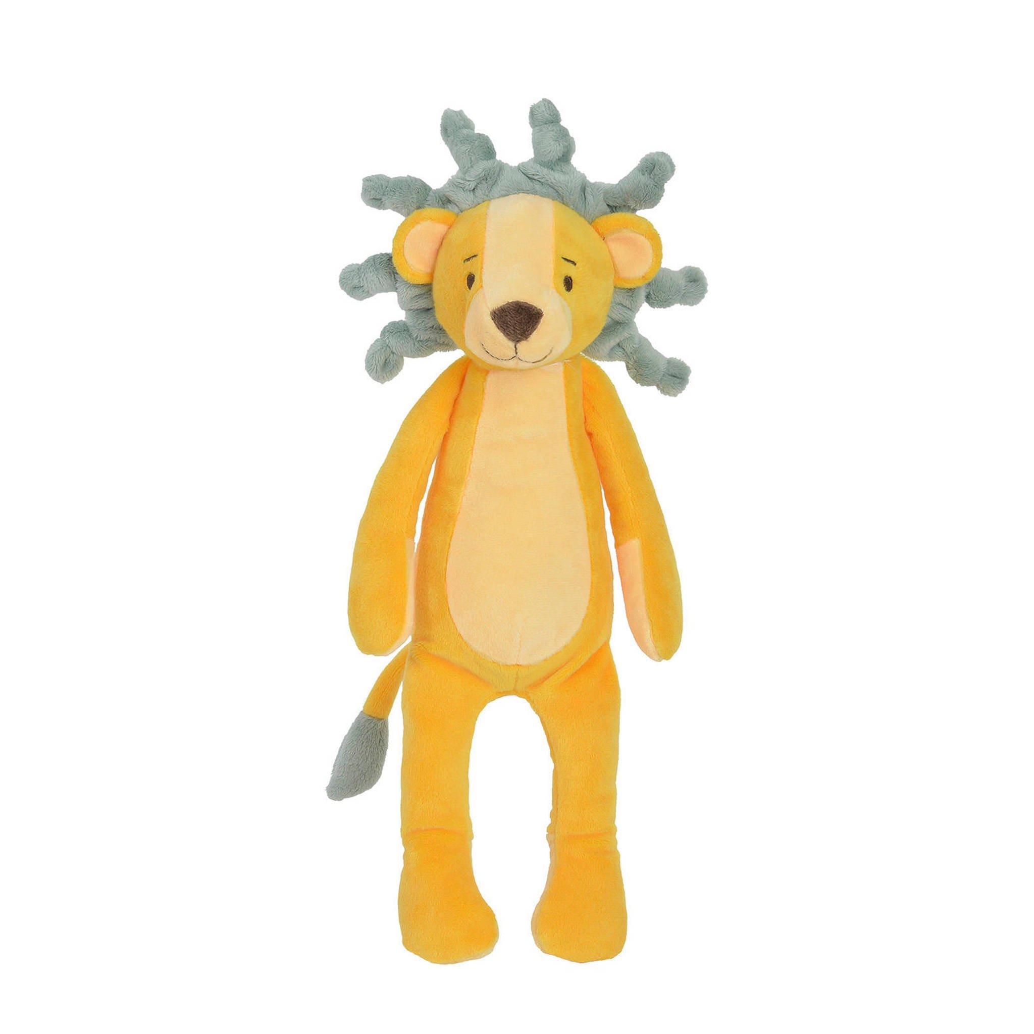 Plüsch Löwe Stofftier Kuscheltier gelb 30 cm
