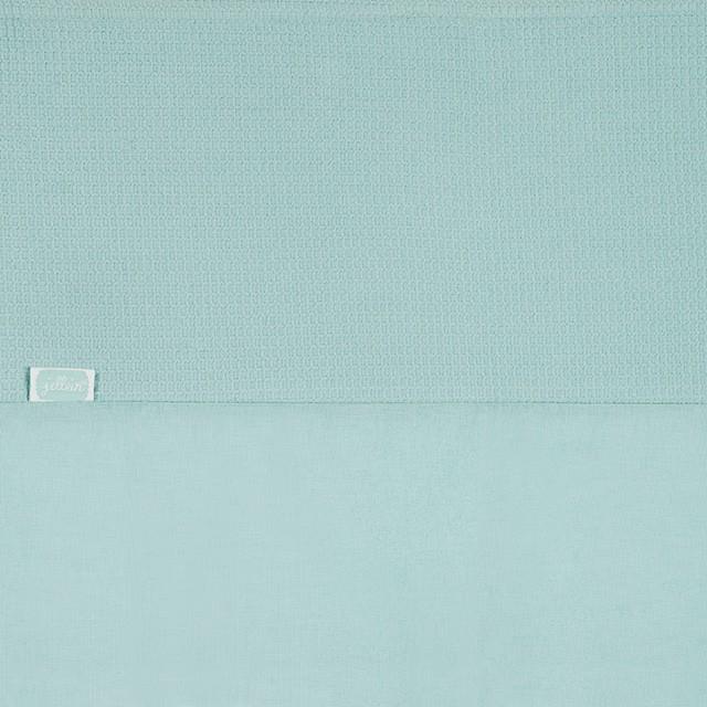 Laken Mini Waffle stonegreen (75 x 100 cm)