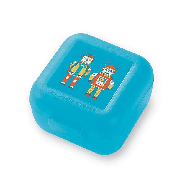 Snackbox 2er Set Roboter blau