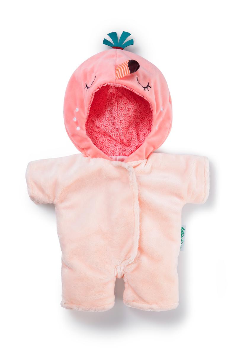 Puppenbekleidung Anais Flamingo, für Babypuppen 36 cm
