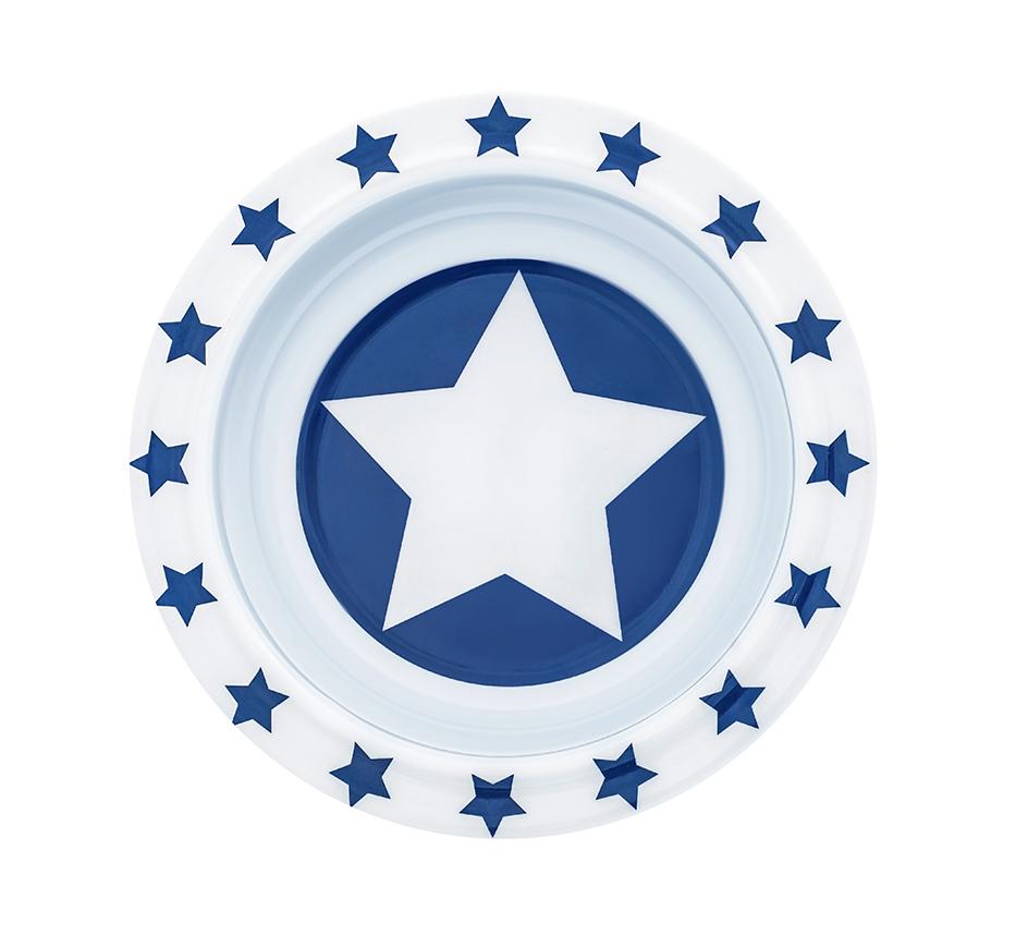 Schale Melamin STARS marine