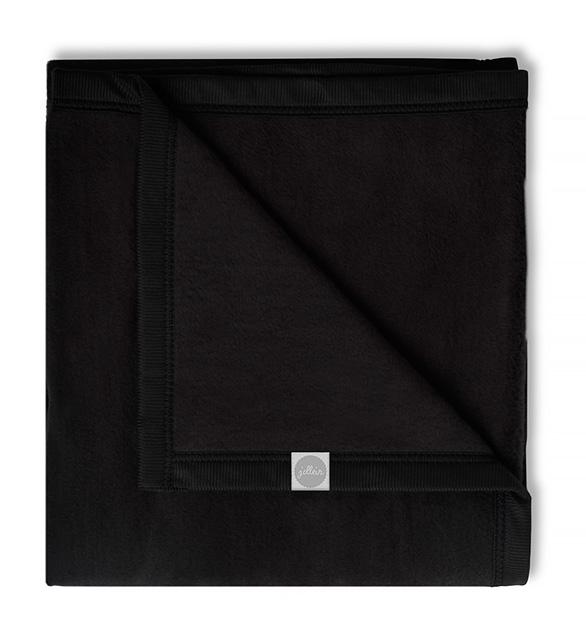 Babydecke Basic schwarz (75x100 cm)