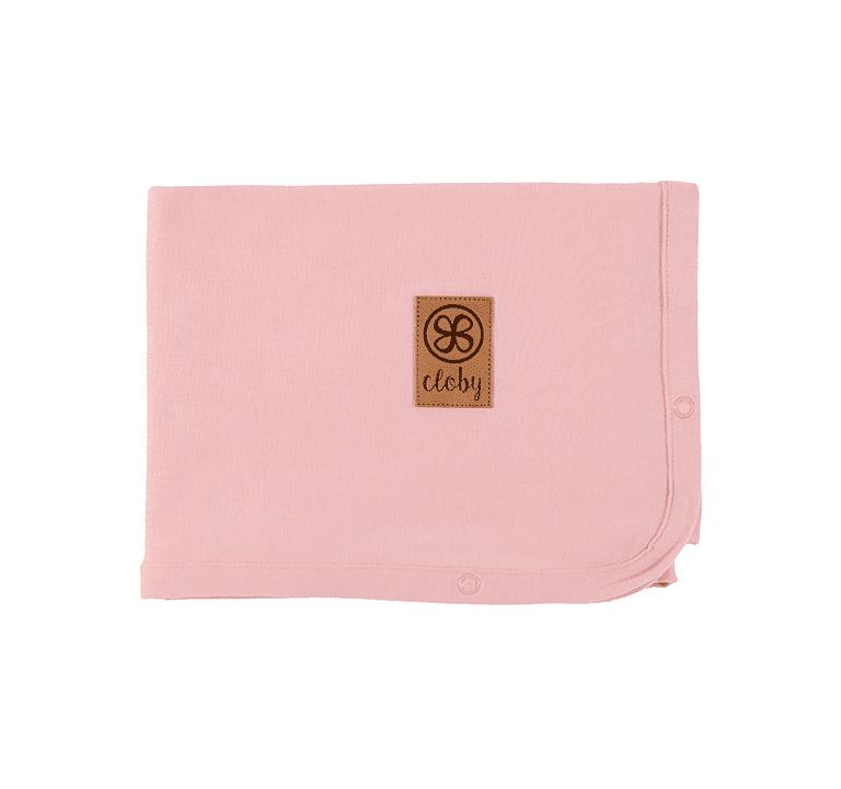 Decke mit UV-Schutz (UPF 50+) Misty rose (Gr. 95x73 cm)