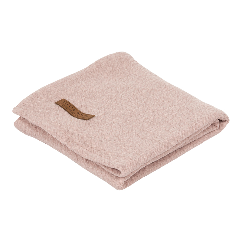 Musselin Swaddle Tuch / Pucktuch Pure rosa (Gr. 120x120 cm)