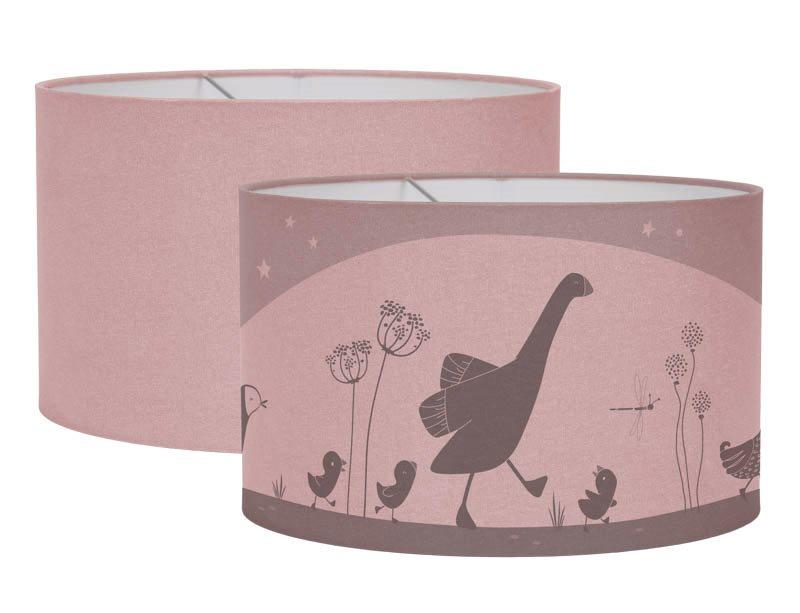 Hängelampe Silhouette Little Goose/Kleine Gans rosa