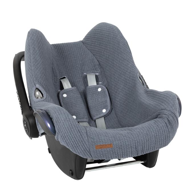 Bezug für Babyschale Pure blau