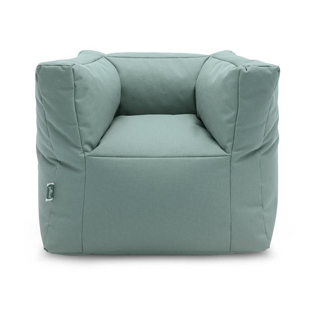Kindersessel Sitzsack stonegreen