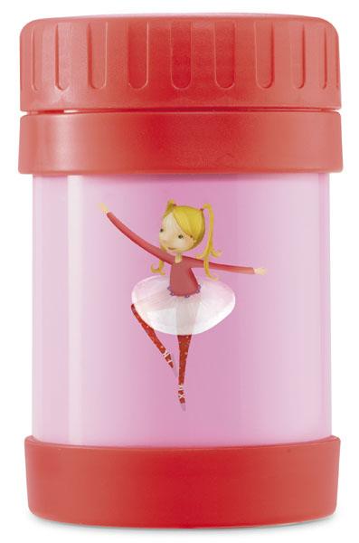 hermodose Ballerina rot rosa