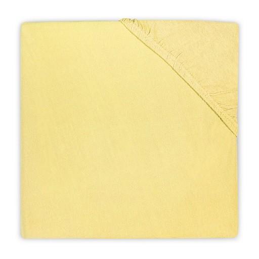 Jollein Jersey Spannlaken gelb 40 x 80 cm