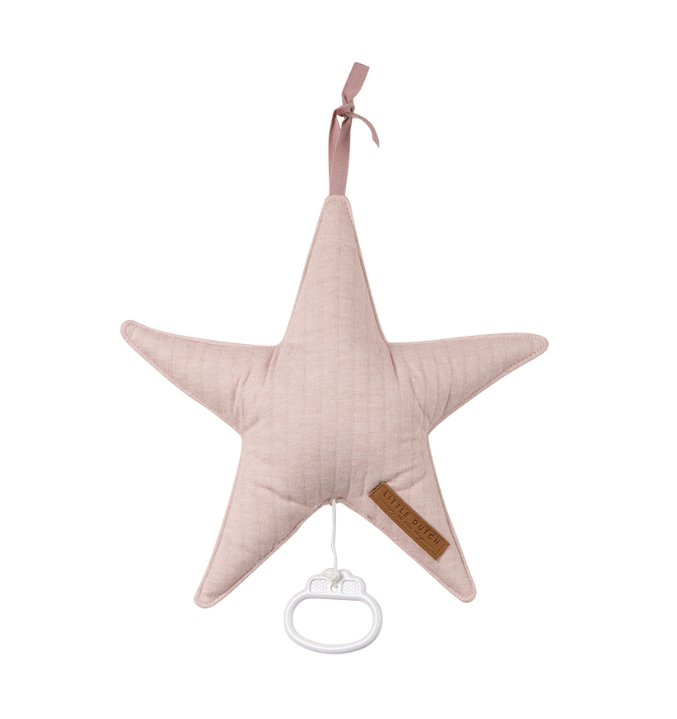 Spieluhr Stern Pure rosa
