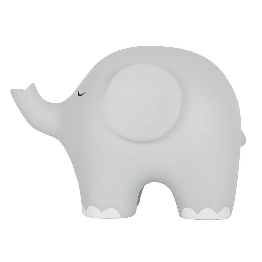 Nachtlicht Elefant grau