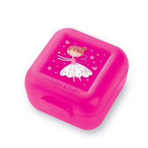 Snackbox 2er Fee pink
