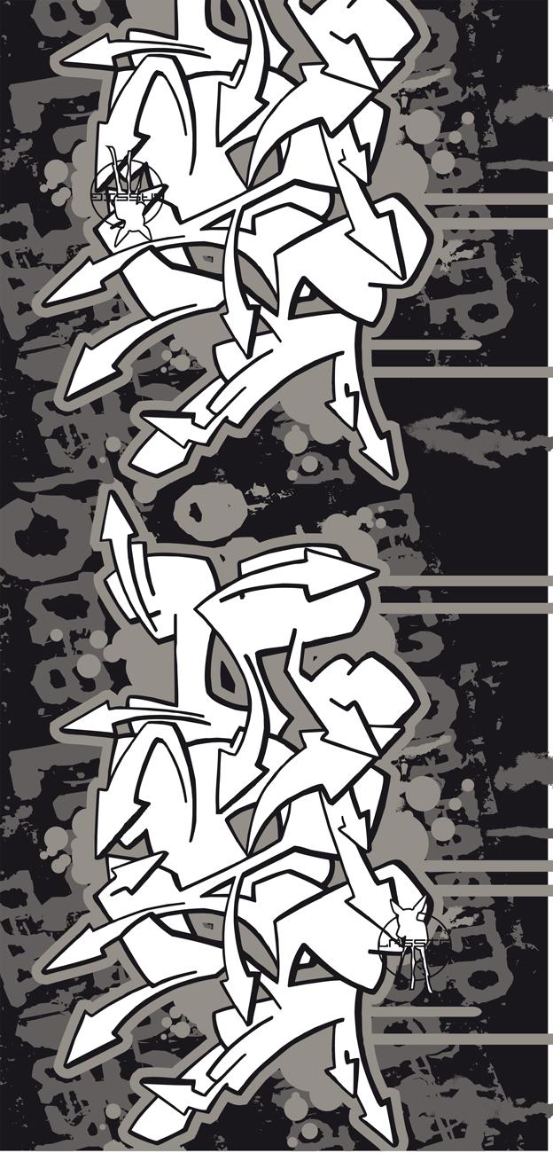 Lässig - Twister Kids - Graffiti