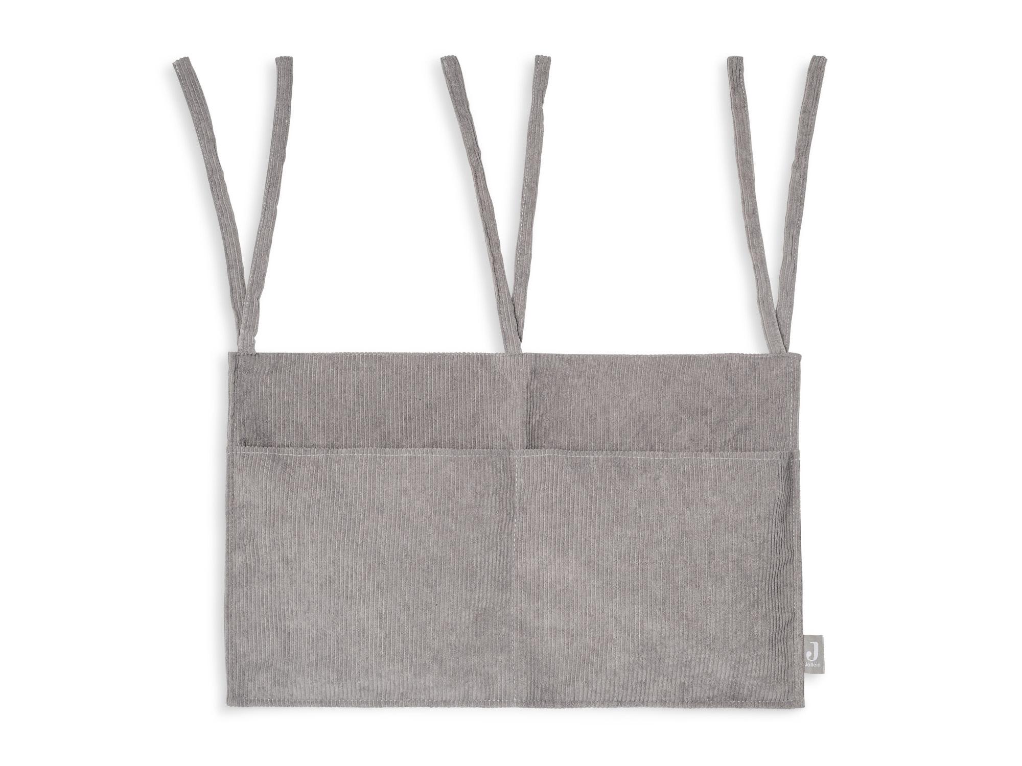 Aufbewahrungstasche Beutel Cord grau