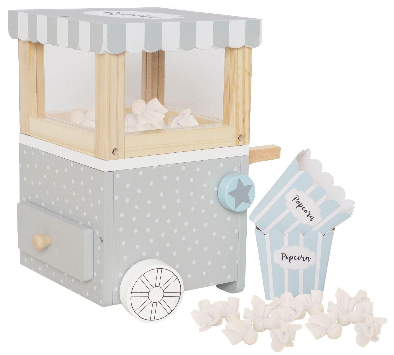 Holz Popcorn Maschine mit Zubehör