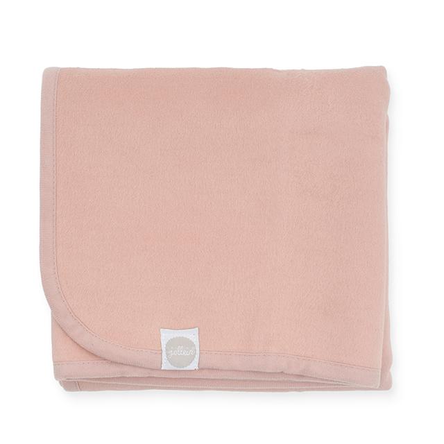 Kinderdecke Basic rosa (Gr. 100x150 cm)