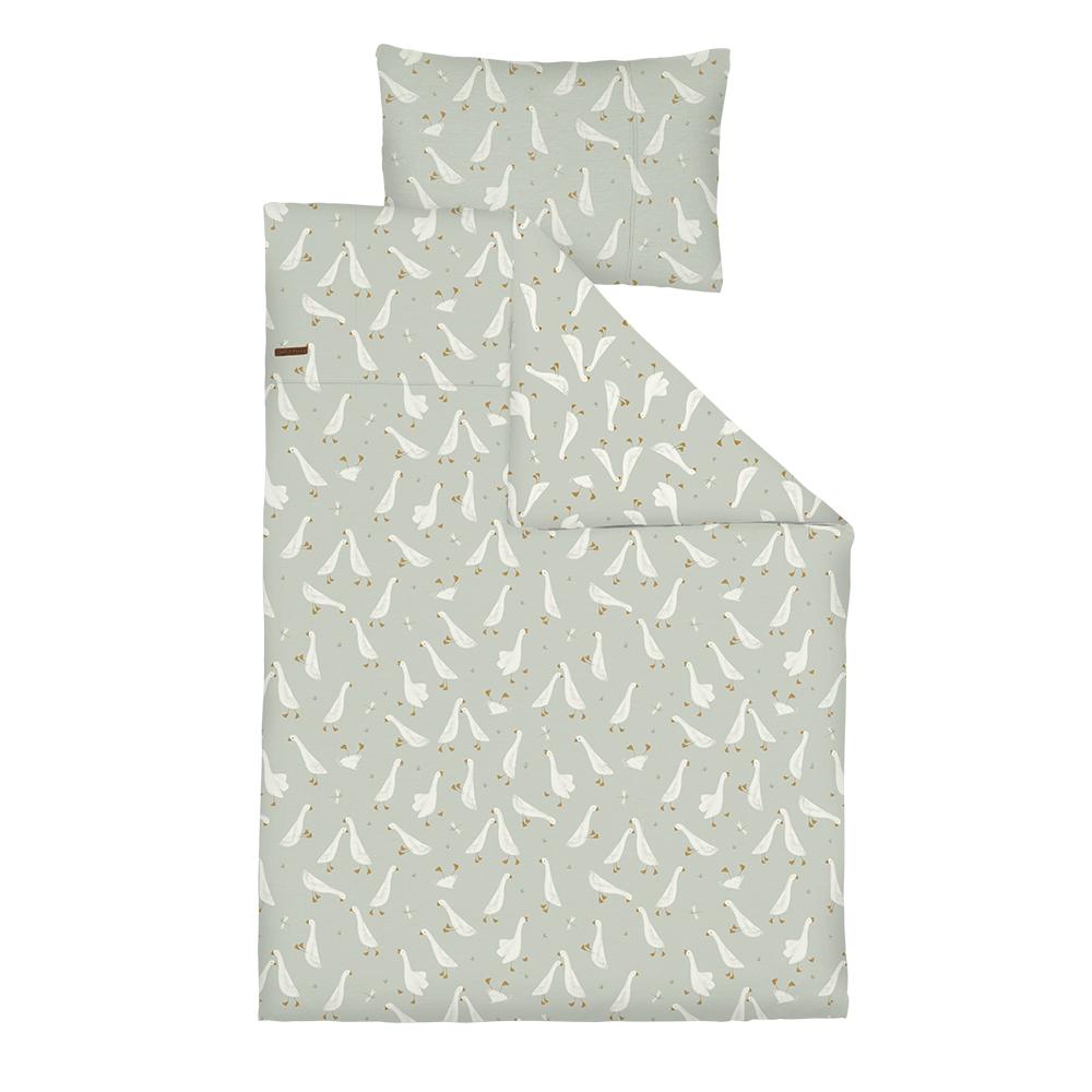 Kinderbettwäsche Little Goose / Kleine Gans (Gr. 100x140 cm + 40x60 cm)