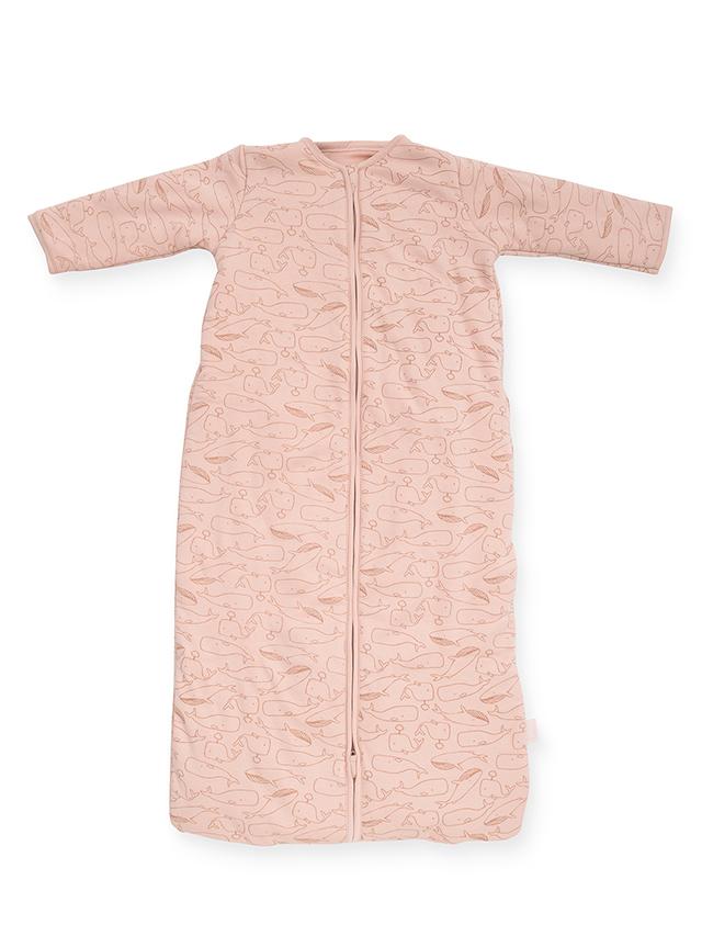 Schlafsack 4 Jahreszeiten Walfische rosa (Gr. 70 cm)