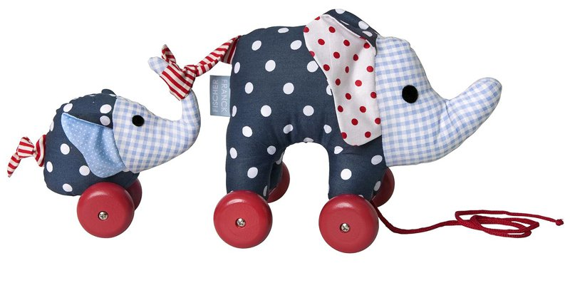 Noah Elefant Nachziehtier